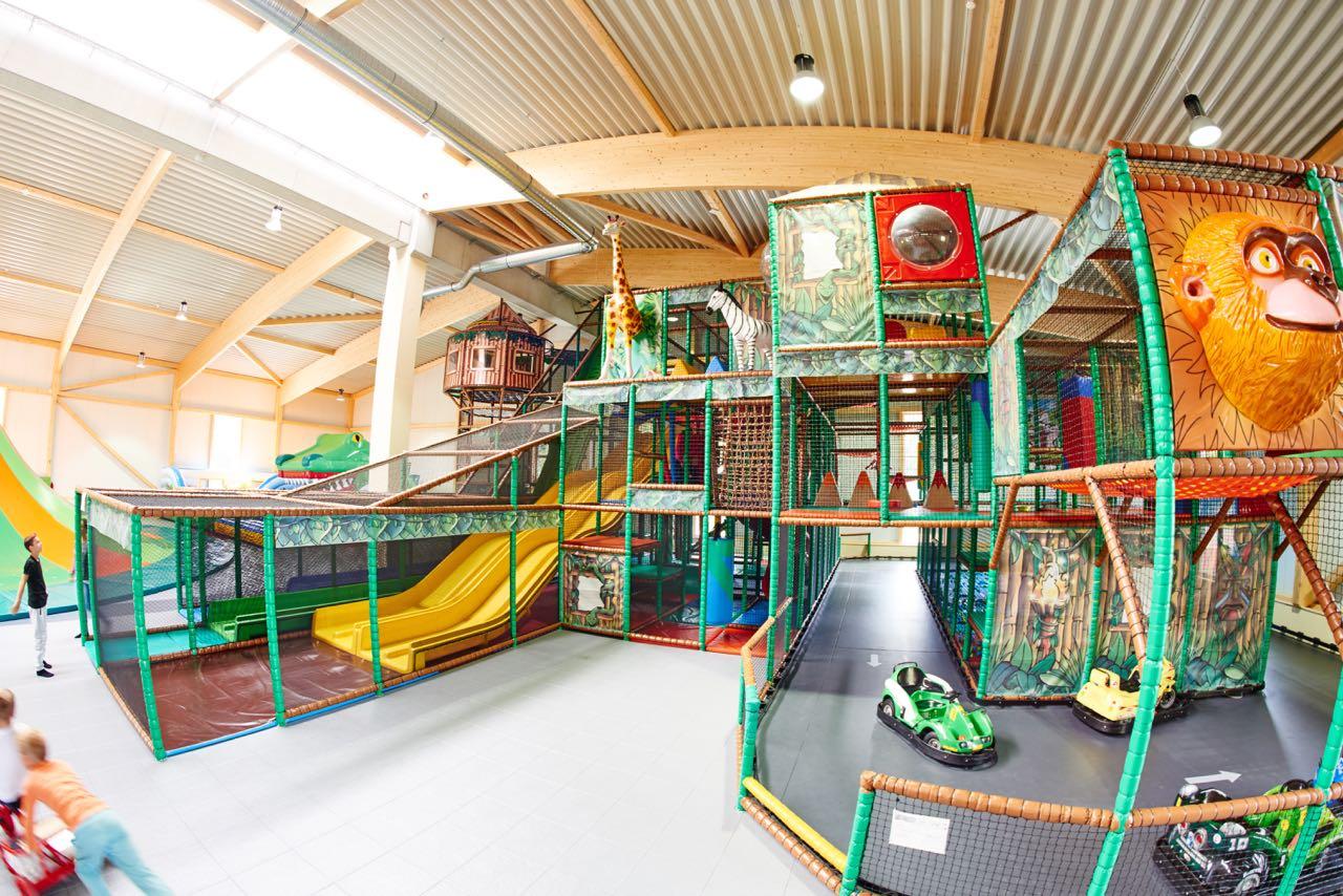Funpark mit vielen Hindernissen